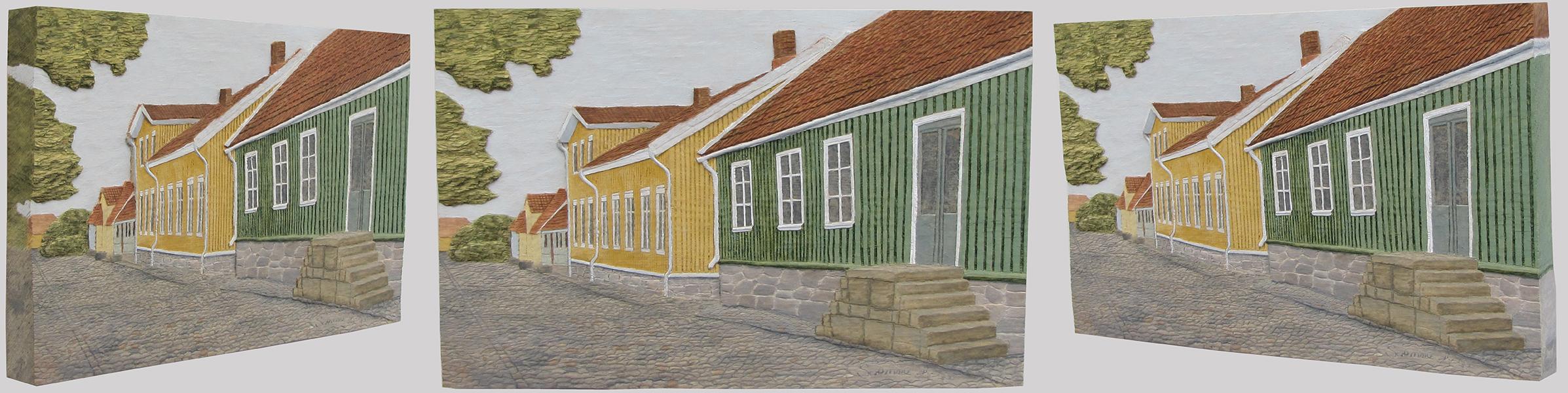 Gamla stan, Falkenberg 1, från olika vinklar