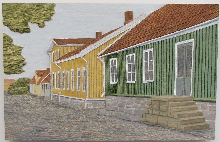 Gamla stan, Falkenberg 1 - 40x26cm