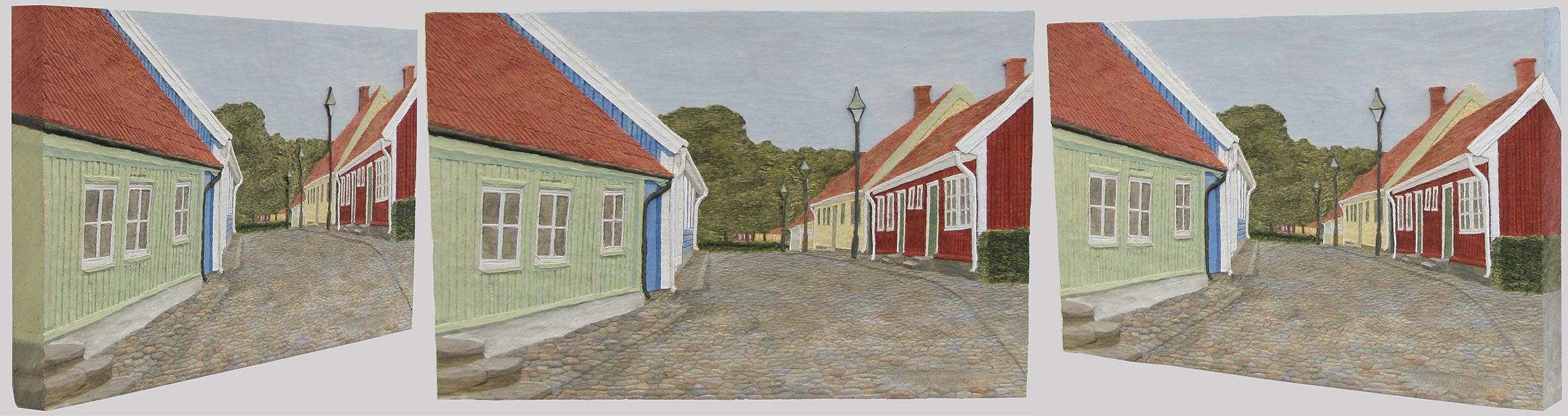 Gamla stan, Falkenberg 2, från olika vinklar